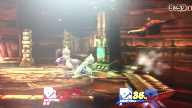 Mewtwo's badass combo game