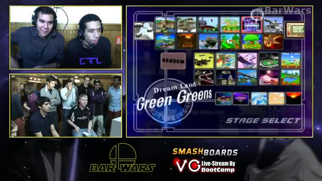 Chillin's 4 second stock against Redd at Bar Wars