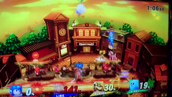 Giga Bowser in Smash 4