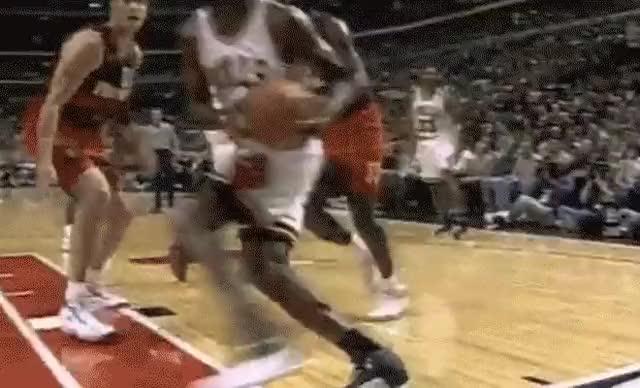 Animated basketball dunk gif
