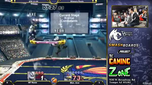 Axe's Falco is the truth.