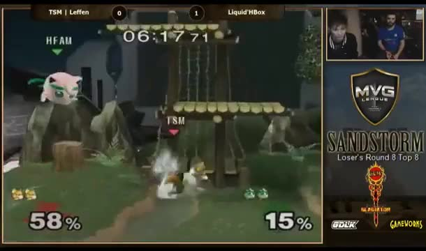 Just 15 seconds of a THIRSTY Hbox vs Leffen. Hot damn.