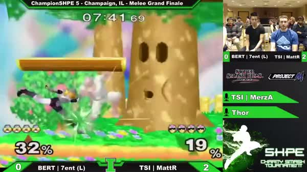 Nice reversal by Falcon after Sheik gets a grab