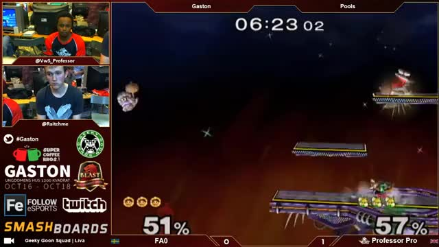 Cute Sopo combo vs Professor Pro from wonky grab