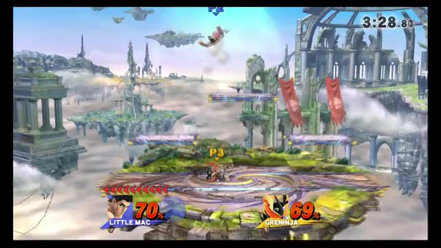 KO Punch has a huge hitbox