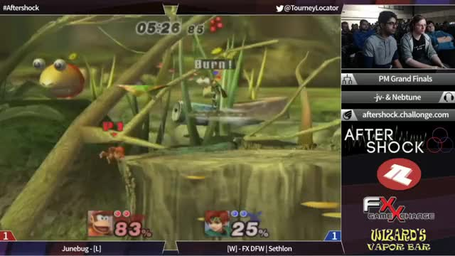 Junebug's crazy gimp in the Aftershock Grand Finals.