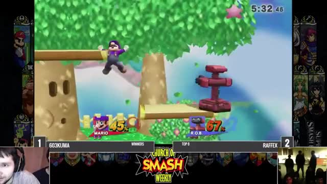 Dirty Mario kill on ROB from our Boston, MA Monthly