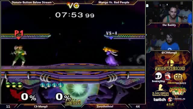 [Falcon] Mang0 kneeradicates Peach.