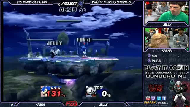 Karma's Sonic teaches Metaknight to live and learn.