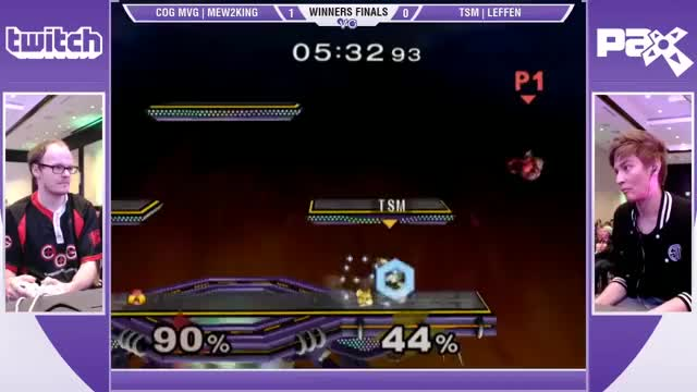 M2K's nasty Sheik combo on Leffen at PAX