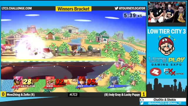Zero and Mew2King get destroyed by one counter!