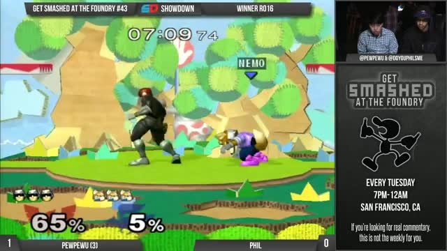 Rare footage of PewPewU's crazy Falcon