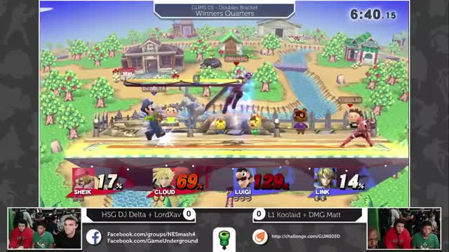Cloud is OP in doubles