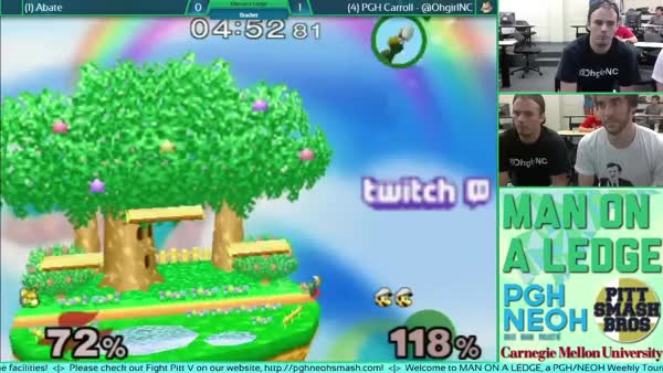 I swear Luigi mains do it on purpose