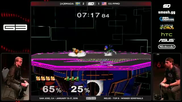 PPMD with a sick double jump read on Armada