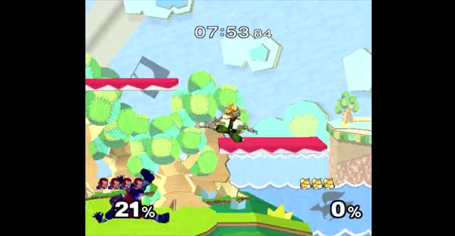 Ganondorf nair has been slept on for too long [CPU]