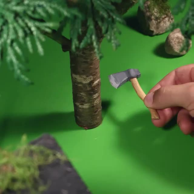 Clever stop motion animation movie