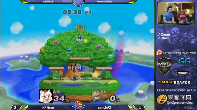 I always go for the optimal edgeguard.