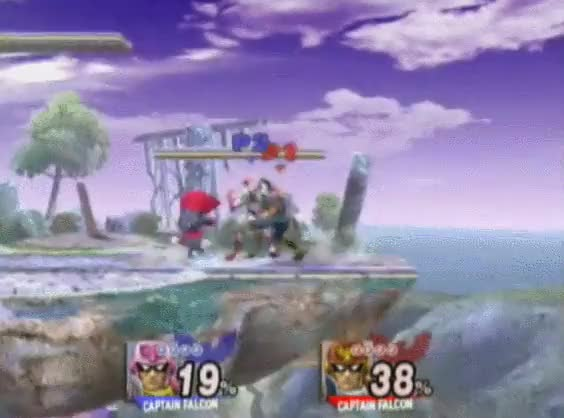 Captain Falcon Knows How to Think Outside of the Box