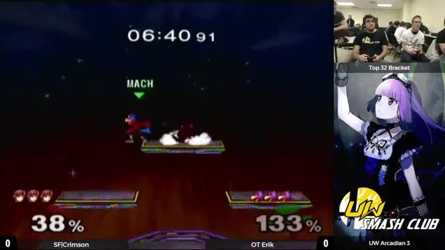 He's a fairly new player but he really likes his edge cancels