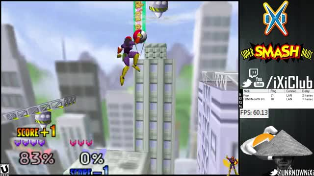 """You can do the """"Invisible Bomb"""" glitch with exploding capsules in 64 lol – FUNKNOWN's Bag of Tricks vs Fray"""