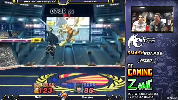 Axe's Marth Up-B's making no sense