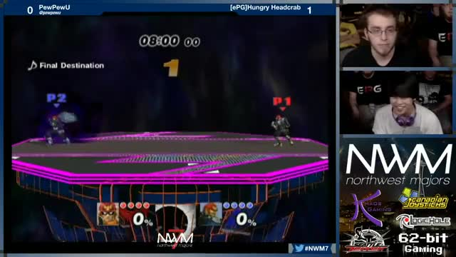 Out to the cleaners : HungryHeadcrab vs PewPewU @ NWM7