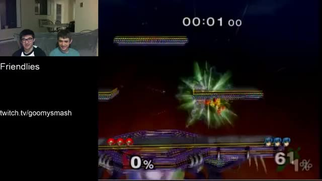 Double bomb dair into double bomb nair. Samus bombs are cool.
