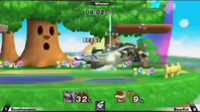 This is why you don't Down B on stage as Bowser.