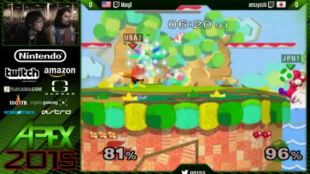 aMSa gets rekt by Mang0