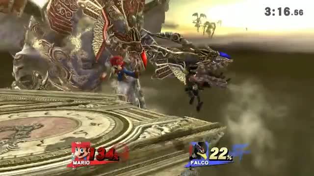 Mario Up B KO'ing at 63 percent?!