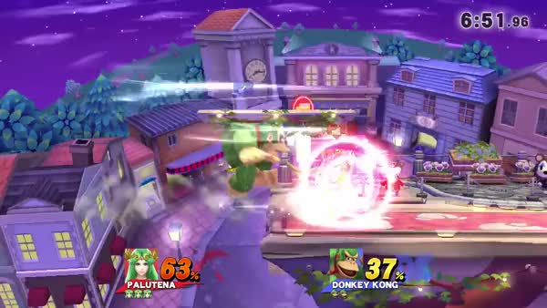 Palutena May Be A Good Counter vs DK With Customs.