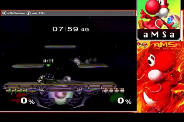aMSa's buster combo finisher as Falco