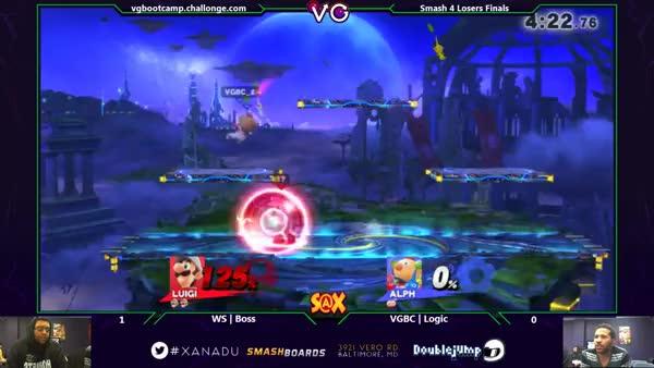 [Luigi] Boss goes deep for dat zero to death.
