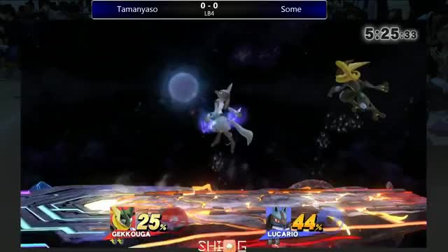 A japanese Greninja makes 'Some' get blown back for a few seconds after this combo.