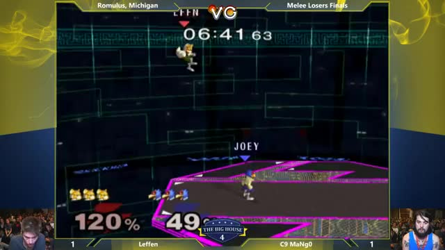 Mango figures out how to RAR in Melee
