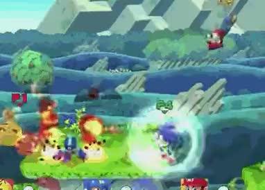 Mario's Bair Landing Lag Cancelling into Ftilt (E3 BUILD)