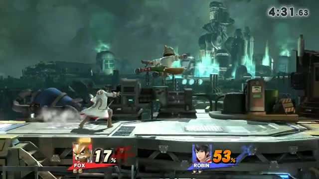 """""""Shine spike is better in melee"""""""