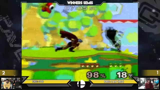 Zain VS SmashG0d: the Hypest Marth Ditto in MDVA