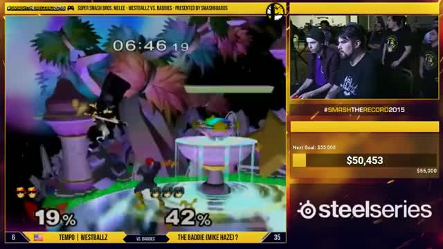 Westballz's falcon vs Mike Haze