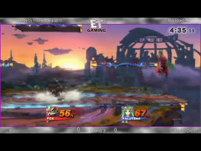 Rated's custom combo on Master Gheb during a Puerto Rico tournament set