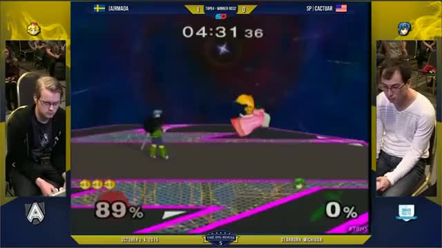[Armada vs Cactuar] Peach's jab is pretty good