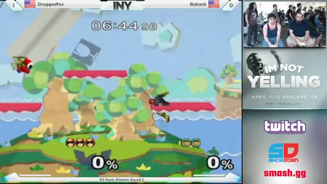 Druggedfox with a picturesque Falcon zero to death