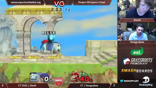 [Mario] Hungrybox and Fireball Recovery Snuff