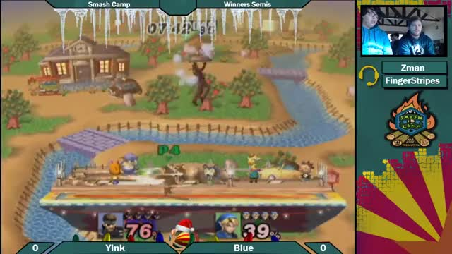 Yink with a slick punish