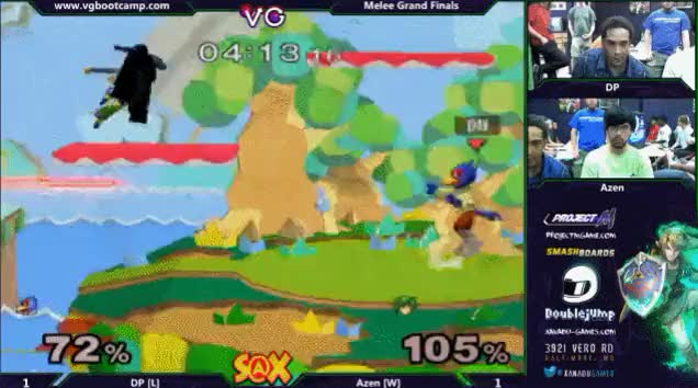 Azen finishing combo on DP @ Xanadu