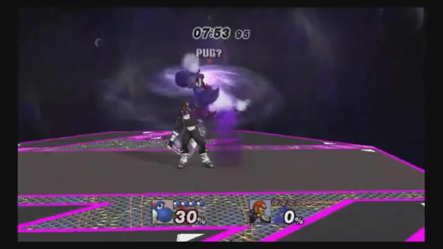 Yoshi 0 to Death with a triple DJC nair combo
