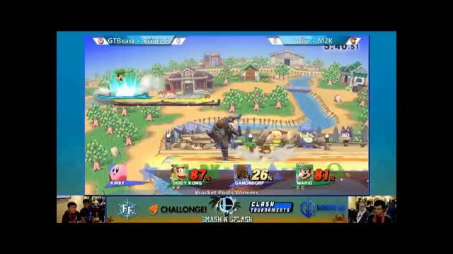 Ally + M2K Team Combo at Smash'N'Splash