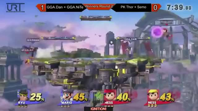 When Saving Your Doubles Partner Goes Wrong