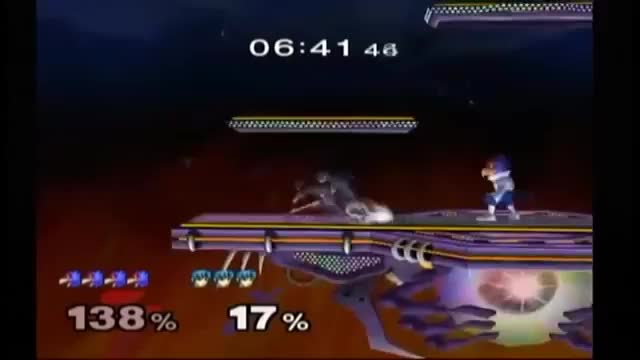 How to space around a brainless spammy Falco [Marth]